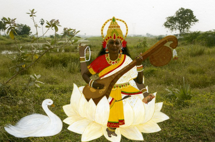 Saraswati_Mother
